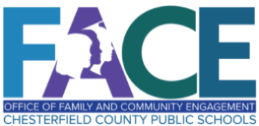 logo for FACE: Office of Family And Community Engagement, Chesterfield Public Schools